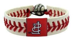 St Louis Cardinals Classic Baseball Bracelet  MLB Jewelry Wr