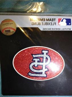 st louis cardinals color bling emblem licensed