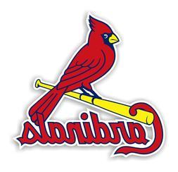 St Louis Cardinals  Decal / Sticker Die cut