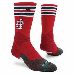 St. Louis Cardinals Stance Diamond Pro Crew Socks