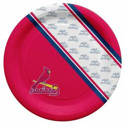 St Louis Cardinals Disposable Paper Plates - 20 Pack  MLB Pa