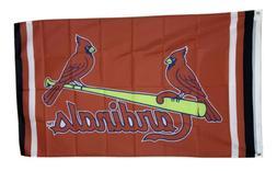 St Louis Cardinals Flag 3x5 ft Banner Man Cave Decor MLB Bas