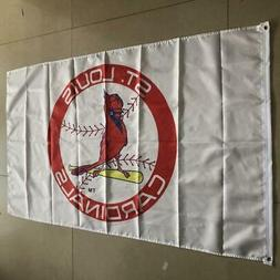 St. Louis Cardinals Flag 3x5 ft Indoor Outdoor Banner MLB