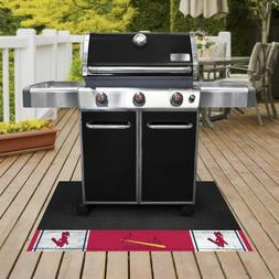 St Louis Cardinals Grill Mat 1950 Retro Collection