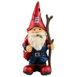St. Louis Cardinals Holding Stick Decorative Garden Gnome 10