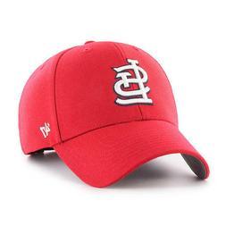 ST. LOUIS CARDINALS HOME MVP CAP 47 BRAND DAD HAT CURVE VISO