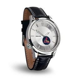 St Louis Cardinals Icon Men's Watch  Jewelry Leather Stainle