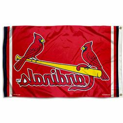 St. Louis Cardinals Logo 3x5 Banner Flag