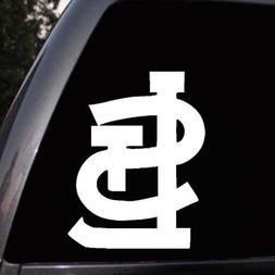 St. Louis Cardinals Logo Baseball Car Truck Window Laptop Di