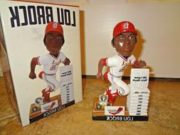 St Louis Cardinals Lou Brock Career Highlights Spfld Bobbleh