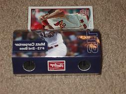 St Louis Cardinals Matt Carpenter Binoculars w/Trading Card,