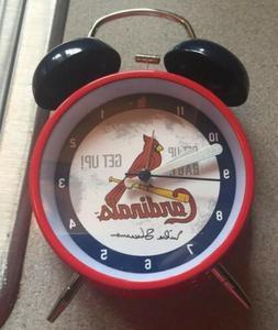St Louis Cardinals Mike Shannon Talking Alarm Clock 8-27-201
