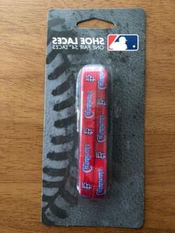 St. Louis Cardinals MLB 54'' Shoe Laces 1 Pair Laceups Unise