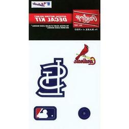 St Louis Cardinals MLB Baseball Batting Helmet Decal Kit