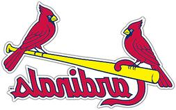 St. Louis Cardinals MLB Baseball Car Bumper Window Sticker D
