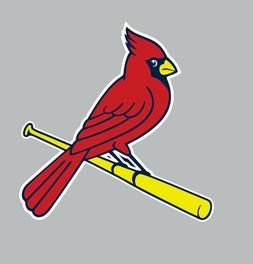 St. Louis Cardinals MLB Baseball Full Color Sports Decal Sti