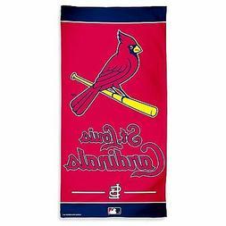 "ST LOUIS CARDINALS MLB BEACH TOWEL POOL BATH TOWEL 60"" X 30"""