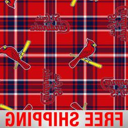 st louis cardinals mlb fleece fabric style