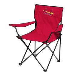 ST LOUIS CARDINALS MLB LOGO QUAD Folding Chair   Travel Tail