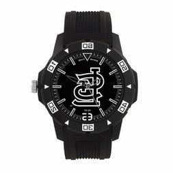 St Louis Cardinals MLB Men's Automatic Black Watch - Brand N