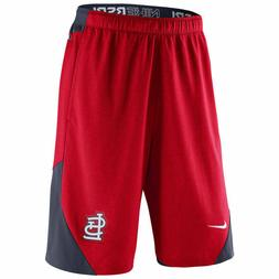 St Louis Cardinals MLB Mens NIKE Red Shorts M L XL XXL Baseb