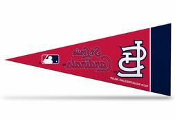 "St. Louis Cardinals MLB Mini Pennant 9""x4"", New, Felt, Made"