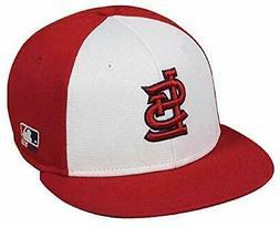 St. Louis Cardinals MLB OC Sports Red White Flat Hat Cap Adu