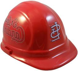 St. Louis Cardinals MLB Team Hard Hat with Ratchet Suspensio
