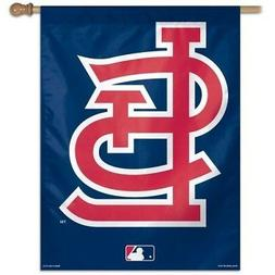 ST. LOUIS CARDINALS ~ Official MLB Outdoor House Flag Banner