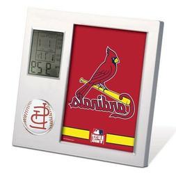 ST. LOUIS CARDINALS ~ Official MLB Team Desk Alarm Clock ~ N