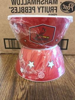 St. Louis Cardinals Plastic bowls set of 4