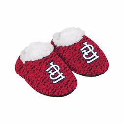 St Louis Cardinals POLY KNIT Infant Newborn Baby Booties Sli