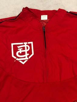 St Louis Cardinals Rain Jacket and Helmet