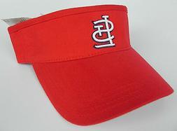 st louis cardinals red mlb vintage visor