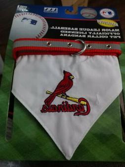 St. Louis Cardinals Reflective Pet Collar Bandana Officially