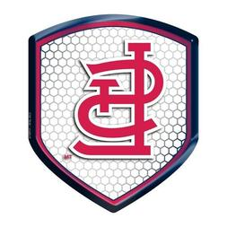 St Louis Cardinals Reflector Decal MLB Auto Shield Team Car