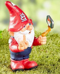 St Louis Cardinals Selfie Gnome Baseball Garden Yard Lawn Po
