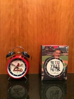 St Louis Cardinals SGA Mike Shannon Alarm Clock NIB