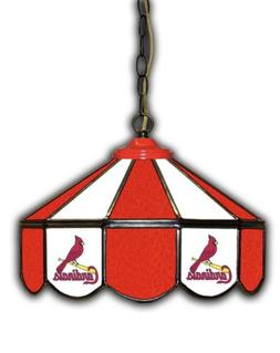 St. Louis Cardinals Stained Glass Pub Lamp
