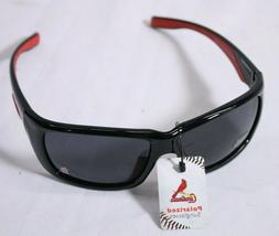 """ST LOUIS CARDINALS SUNGLASSES POLARIZED """"BLACK AND RED"""" FOR"""