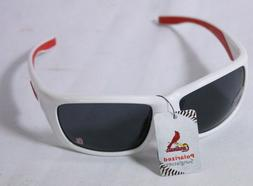 """ST LOUIS CARDINALS SUNGLASSES POLARIZED """"RED AND WHITE"""" FOR"""