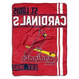 St Louis Cardinals Super Plush Micro Raschel 46x60 Soft Thro