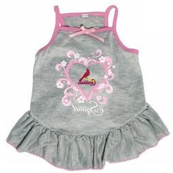 "St. Louis Cardinals ""Too Cute Squad"" Pet Dress - Medium"