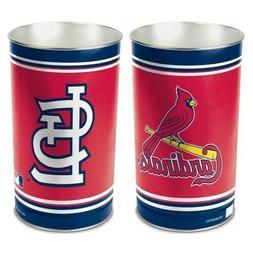 st louis cardinals trash can waste basket