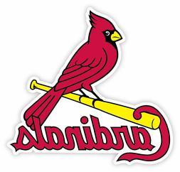 "St. Louis Cardinals Vinyl Sticker Decal for Cornhole Car 15"""