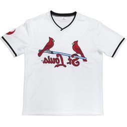 st louis cardinals white star wars jersey