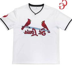 St Louis CARDINALS White Star Wars Jersey Shirt SGA 6/5 Them