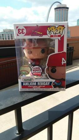 "St. Louis Cardinals Yadier Molina ""Funko Pop Exclusive "" 9/2"