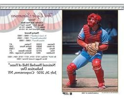 TED SIMMONS ST. LOUIS CARDINALS 8X10 2020 HALL OF FAME INDUC