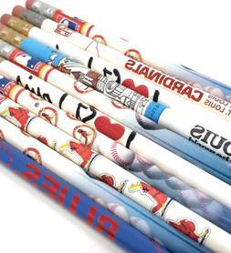 Vintage MLB St Louis Cardinals NHL NFL Blues Arch Pencil Lot